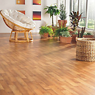 Colours Julius Natural Wood effect Vinyl flooring, 6m²