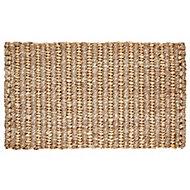 Colours Maxie Natural Jute Door mat (L)750mm (W)450mm