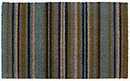 Colours Melia Striped Multicolour Door mat (L)0.45m (W)0.75m