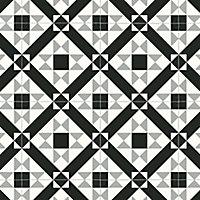 Colours Vinyl rolls Black & grey Mosaic Tile effect Vinyl Flooring, 6m²