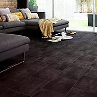 Colours Vinyl rolls Slate Stone effect Vinyl Flooring, 6m²