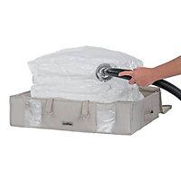 Compactor home Beige 145L Laundry bag