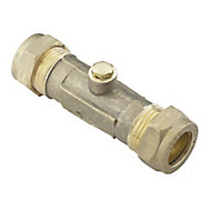 Compression Double Check valve, (Dia)15mm