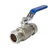 Compression Lever Ball valve (Dia)22mm