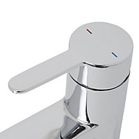 Cooke & Lewis Alysa Chrome effect Kitchen Top lever Tap