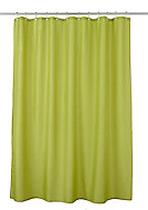 Cooke & Lewis Diani Bamboo Shower curtain (L)1800mm