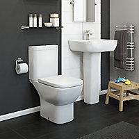 Cooke & Lewis Santoro Full pedestal Pedestal basin
