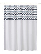Cooke & Lewis Tigoda Multicolour Chevron Shower curtain (L)1800mm