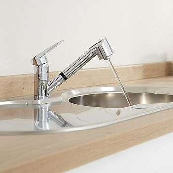 Cooke & Lewis Torrent single lever kitchen tap
