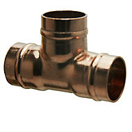 Copper Solder ring Equal Tee (Dia)22mm, Pack of 5
