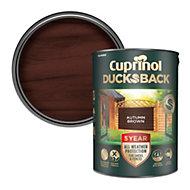 Cuprinol 5 year ducksback Autumn brown Fence & shed Wood treatment 5