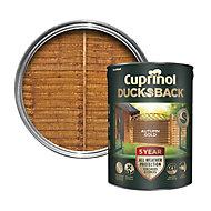 Cuprinol 5 year ducksback Autumn gold Fence & shed Treatment 5L