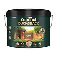 Cuprinol 5 year ducksback Autumn gold Fence & shed Treatment 9L