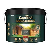 Cuprinol 5 year ducksback Forest green Fence & shed Treatment 9L