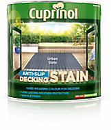 Cuprinol Urban slate Matt Decking Wood stain, 2.5