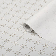 D-C-Fix Mini motif Matt Clear & white Film (L)1.5m (W)675mm