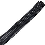 D-Line Black 25mm Cable wrap, (L)1.1m