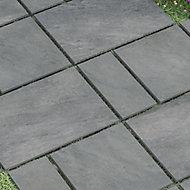 Dakota Grey Matt Stone effect Porcelain Outdoor Tile, Pack of 4, (L)600mm (W)300mm
