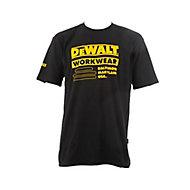 DeWalt Brookfield Black T-shirt Medium