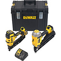 DeWalt Li-ion Cordless Nailer twin pack DCK264P2-GB