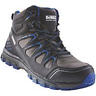 DeWalt Oxygen Black & blue Trainer boots, Size 8