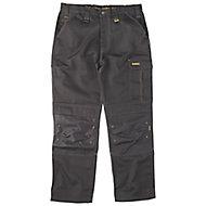 "DeWalt Ridgeley Black Trousers, W38"" L32"""