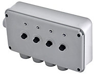 Diall 13A Grey Switched Fused connection unit