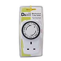 Diall 7 day Mechanical Timer