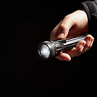 Diall Black Plastic 27lm LED Torch