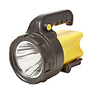 Diall Black & yellow Plastic LED Torch