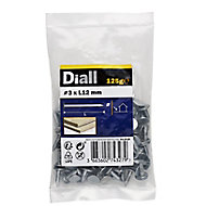 Diall Clout nail (L)12mm (Dia)3mm, Pack