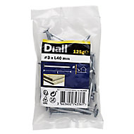 Diall Clout nail (L)40mm (Dia)3mm 125g, Pack