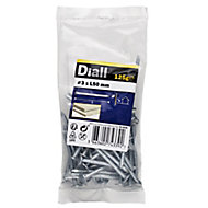 Diall Clout nail (L)50mm (Dia)3mm 125g, Pack