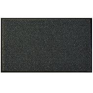 Diall Dark grey Recycled material Door mat (L)750mm (W)450mm