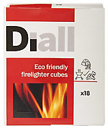 Diall Firelighters 438g, Pack of 18
