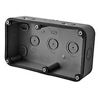 Diall Grey 30A Junction box 85mm