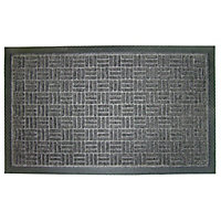Diall Grey Door mat (L)0.9m (W)0.6m