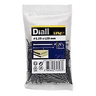 Diall Lost head nail (L)25mm (Dia)1.25mm, Pack