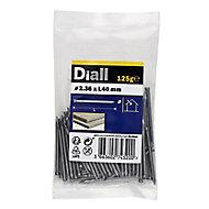 Diall Lost head nail (L)40mm (Dia)2.36mm 125g, Pack