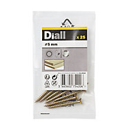 Diall M5 Stainless steel Screw cup Washer, Pack of 25