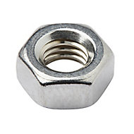 Diall M6 Stainless steel Lock Nut, Pack of 10