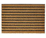 Diall Natural Ribbed Polypropylene Door mat (L)600mm (W)400mm
