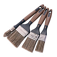 Diall Paint brush, Set of 4