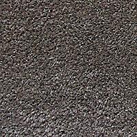 Diall Plain printed Grey Door mat (L)0.75m (W)0.45m