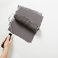 Diall Renovating White Fabric effect Smooth Wallpaper