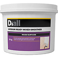 Diall Rough Surface Ready mixed Finishing plaster, 10kg Tub