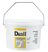 Diall Solvent-free Coving Adhesive & filler 2.5L