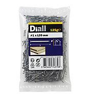 Diall Veneer pin (L)20mm (Dia)1mm, Pack