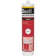 Diall White Acrylic-based General-purpose Sealant, 310ml