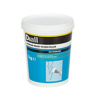 Diall White Ready mixed Filler 1kg